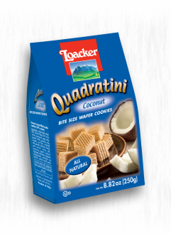 LOACKER QUADRATINI COCONUT