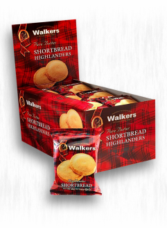 WALKERS SHORTBREAD HIGHLANDERS 2-PK
