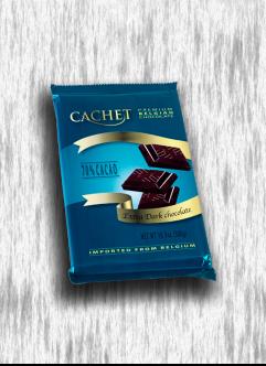 CACHET 300G EXTRA DARK CHOCOLATE