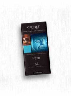 CACHET ORIGIN PERU DARK CHOCOLATE