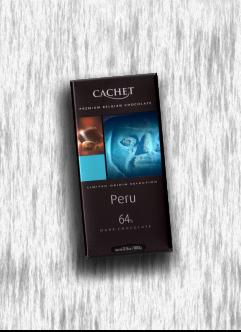 CACHET ORIGIN PERU DARK CHOCOLATE