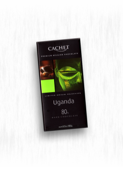 CACHET ORIGIN UGANDA DARK CHOCOLATE
