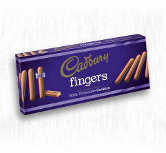 CADBURY MILK CHOCOLATE FINGERS