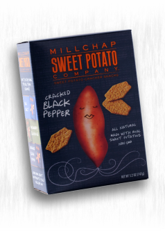 MILLCHAP CRACKED BLACK PEPPER CRACKERS