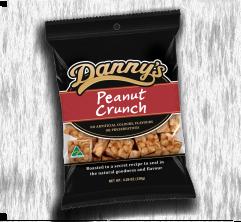 DANNY'S PEANUT CRUNCH BAG