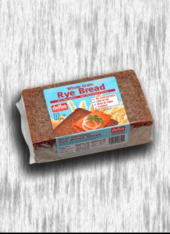 DELBA WHOLE GRAIN RYE-BREAD