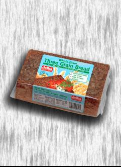 DELBA WHOLE GRAIN 3-GRAIN BREAD