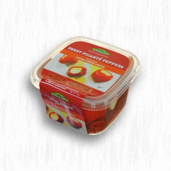 DITTMANN'S SWEET PICANTE PEPPERS STUFF WITH CREAM CHEESE