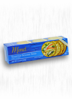 MONET SESAME WATER CRACKERS