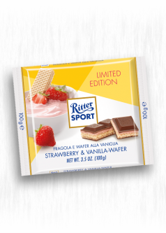 RITTER SPORT STRAWBERRY VANILLA WAFER