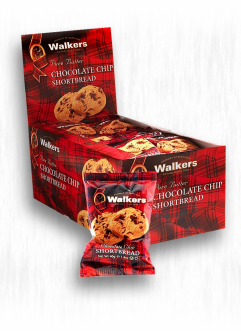 WALKERS CHOCOLATE CHIP SHORTBREAD ROUNDS 2-PK